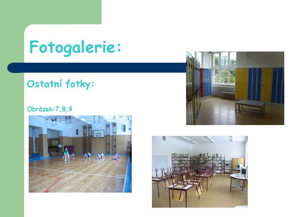 Nejnovější zařízení naší školy: Nově zařízená školní kuchyňka, jídelna a informační centrum.