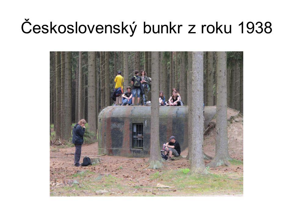 Československý bunkr z roku 1938