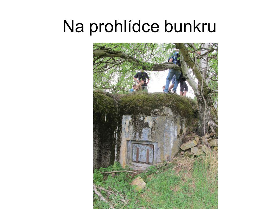 Na prohlídce bunkru