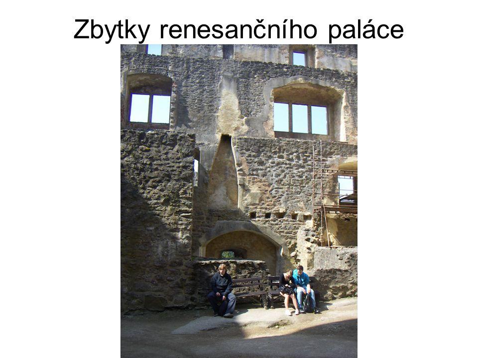Zbytky renesančního paláce