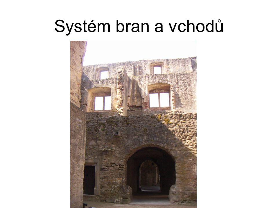 Systém bran a vchodů
