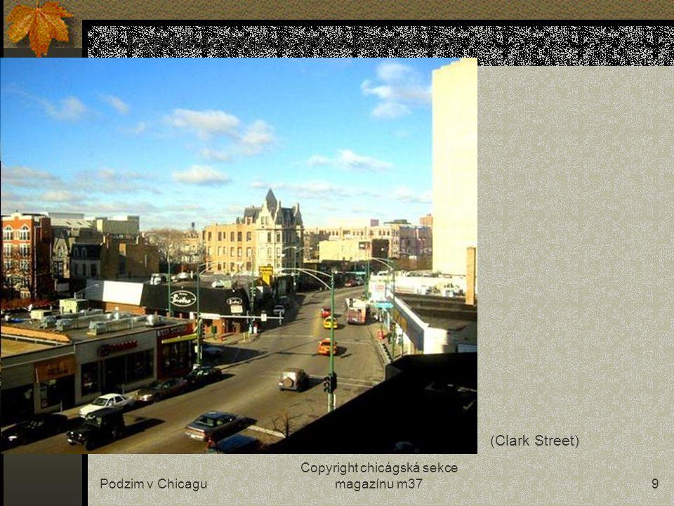 """Podzim v Chicagu Copyright chicágská sekce magazínu m378 …teplé a suché počasí se mění teprve po Halloweenu… (""""jezero krve"""" na náměstí Daley Plaza na"""