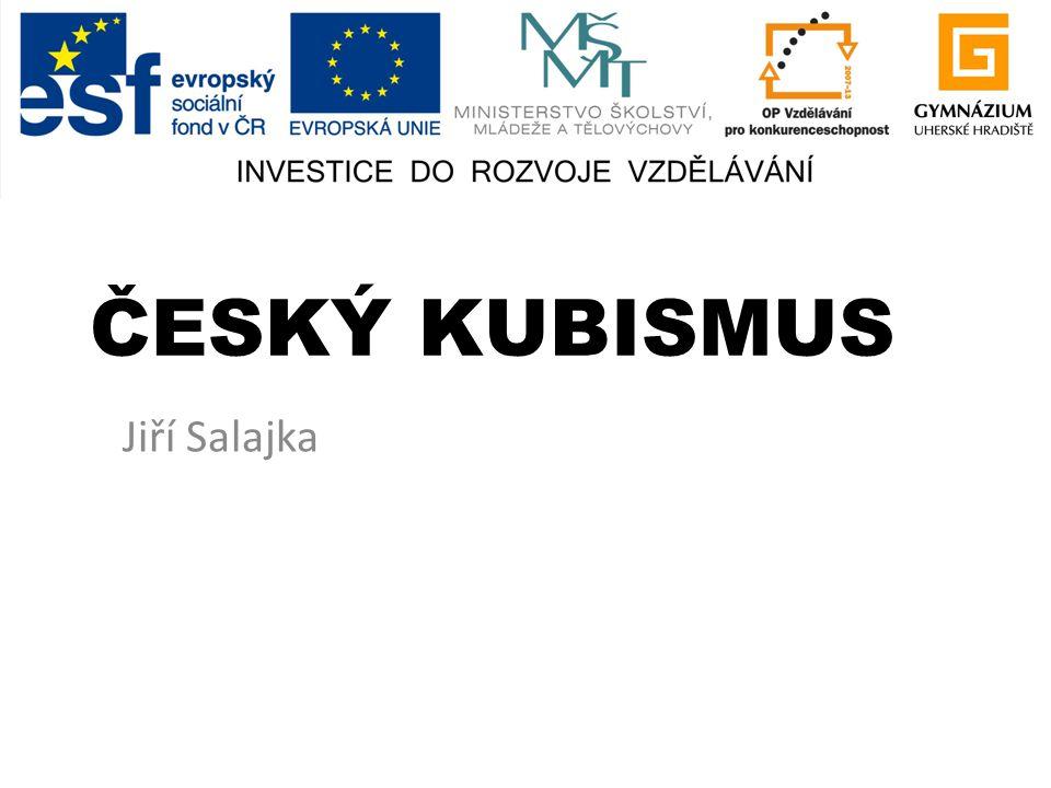 ČESKÝ KUBISMUS Jiří Salajka