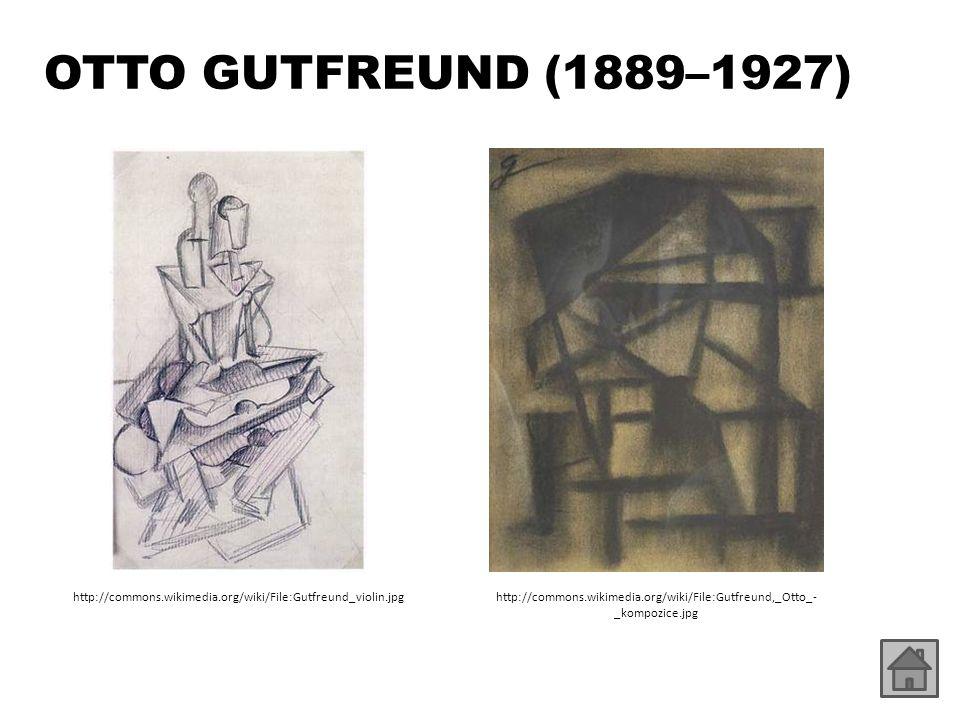 OTTO GUTFREUND (1889–1927) http://commons.wikimedia.org/wiki/File:Gutfreund_violin.jpghttp://commons.wikimedia.org/wiki/File:Gutfreund,_Otto_- _kompozice.jpg