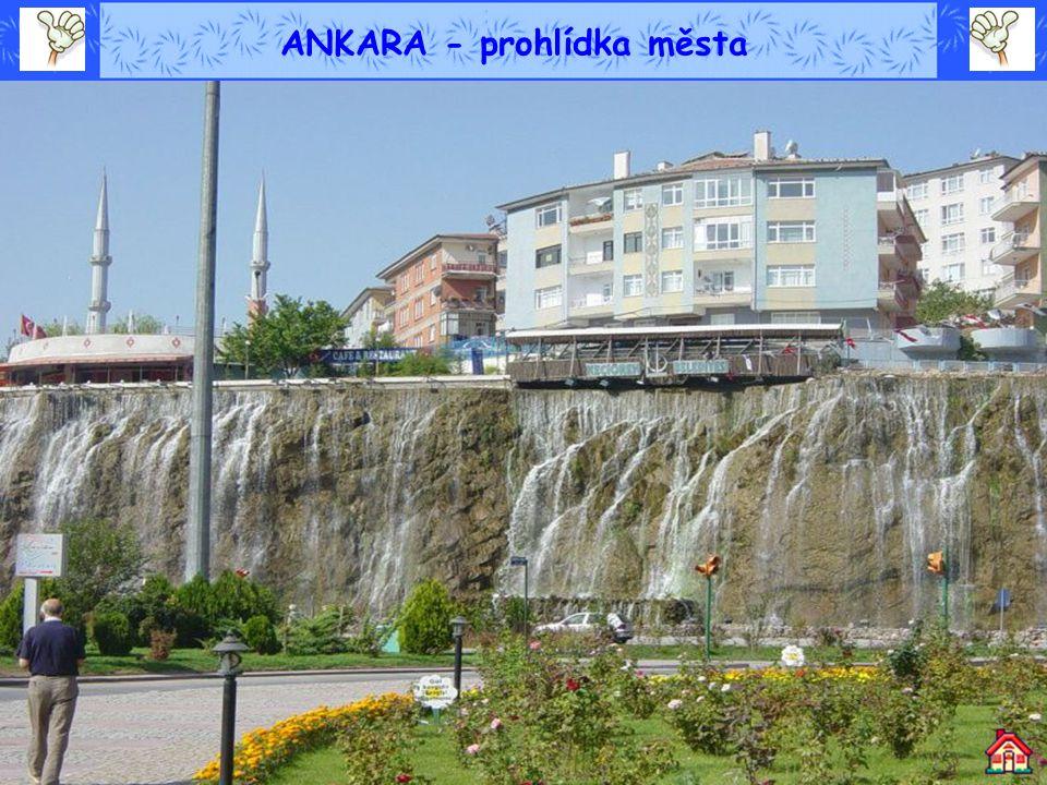 ANKARA - prohlídka města