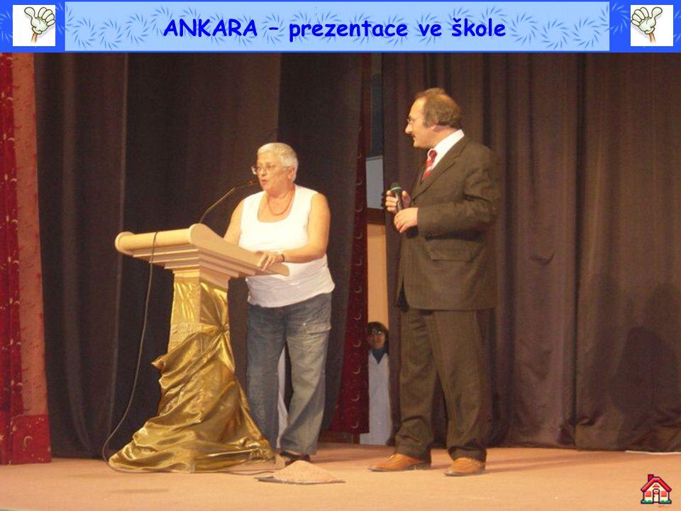 ANKARA – prezentace ve škole
