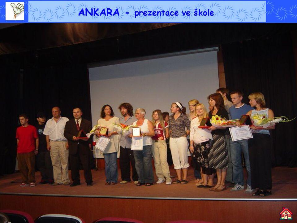 ANKARA - prezentace ve škole
