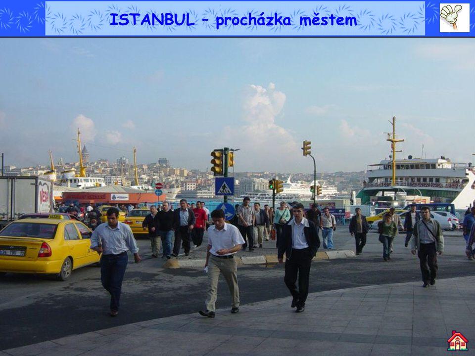 ISTANBUL – procházka městem