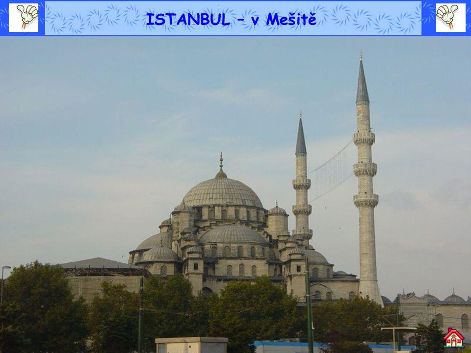 ISTANBUL – v Mešitě