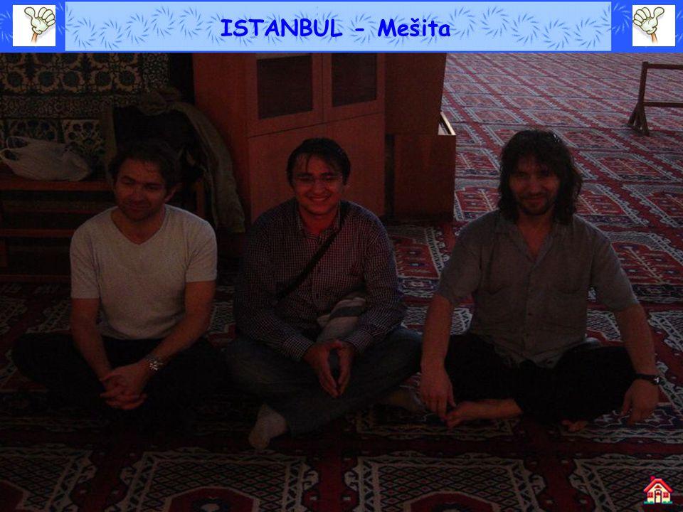 ISTANBUL - Mešita