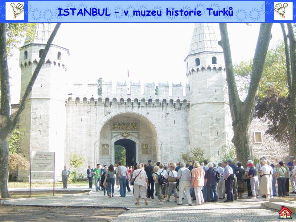 ISTANBUL – v muzeu historie Turků