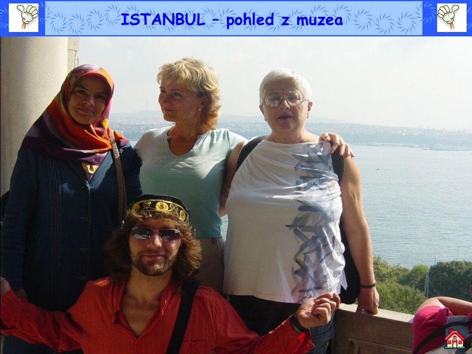 ISTANBUL – pohled z muzea