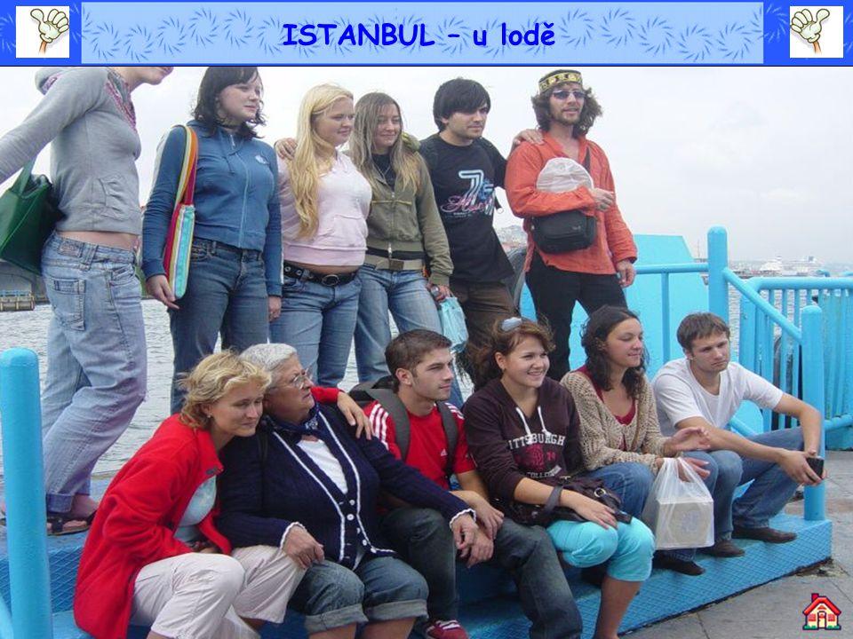ISTANBUL – u lodě