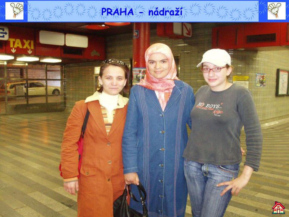 PRAHA - nádraží