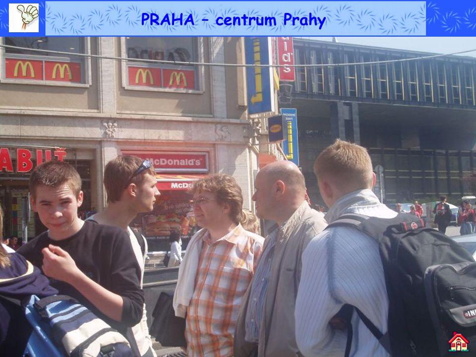 PRAHA – centrum Prahy