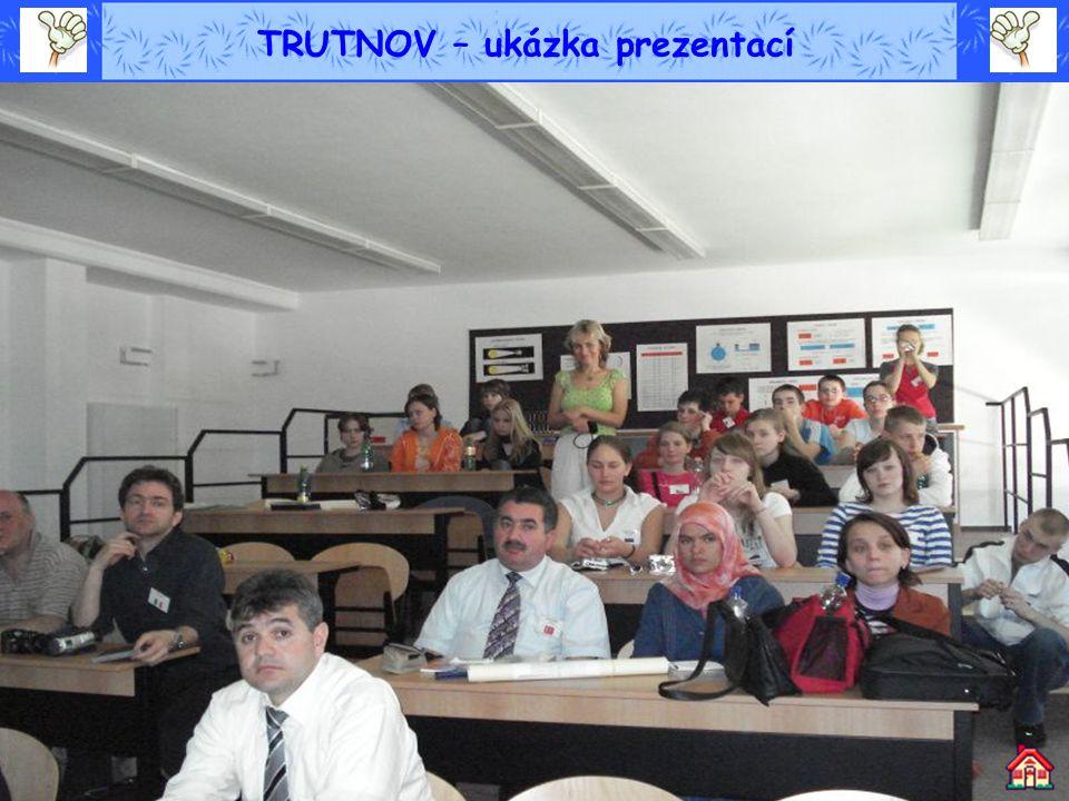 TRUTNOV – ukázka prezentací