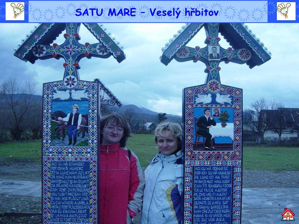 SATU MARE – Veselý hřbitov