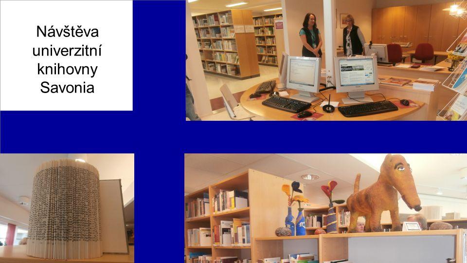 Návštěva univerzitní knihovny Savonia
