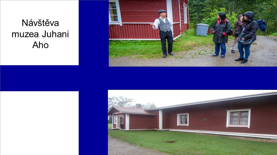 Návštěva muzea Juhani Aho