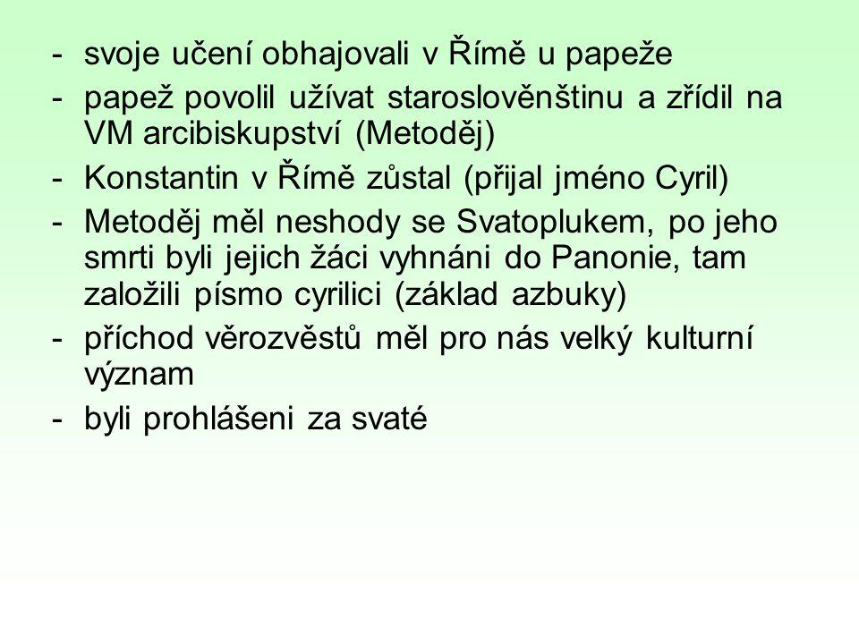 7)http://www.palba.cz/printview.php?t=3806http://www.palba.cz/printview.php?t=3806 8)http://civilizace.mysteria.cz/view.php?cislocl anku=2007030401http://civilizace.mysteria.cz/view.php?cislocl anku=2007030401 9)http://malotridka.ic.cz/3-pomucky/davni- slovane-historicke-obrazky/http://malotridka.ic.cz/3-pomucky/davni- slovane-historicke-obrazky/ 10)http://niniveskal.blogspot.com/2010/11/slova nsti-verozvestove-cyril-metodej.htmlhttp://niniveskal.blogspot.com/2010/11/slova nsti-verozvestove-cyril-metodej.html 11)http://www.dejepisvkostce.estranky.cz/clank y/stredovek/velkomoravska-rise-velka- morava.htmlhttp://www.dejepisvkostce.estranky.cz/clank y/stredovek/velkomoravska-rise-velka- morava.html 12)http://www.palba.cz/printview.php?t=3226&s tart=0&sid=85174616398207013721574c91 678c4ehttp://www.palba.cz/printview.php?t=3226&s tart=0&sid=85174616398207013721574c91 678c4e