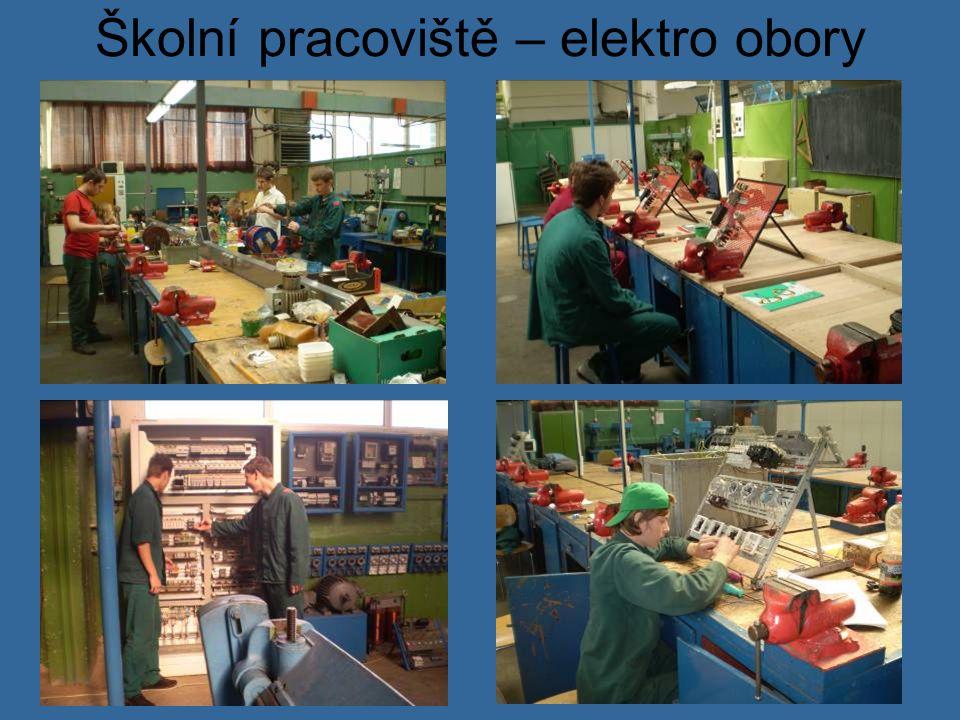Školní pracoviště – elektro obory