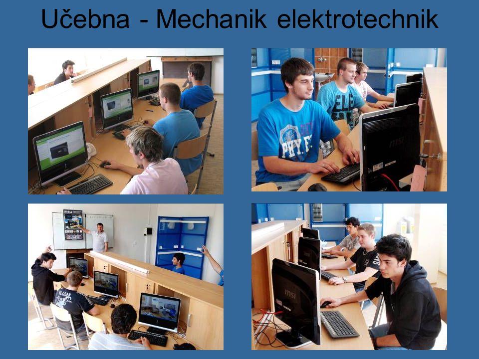 Učebna - Mechanik elektrotechnik