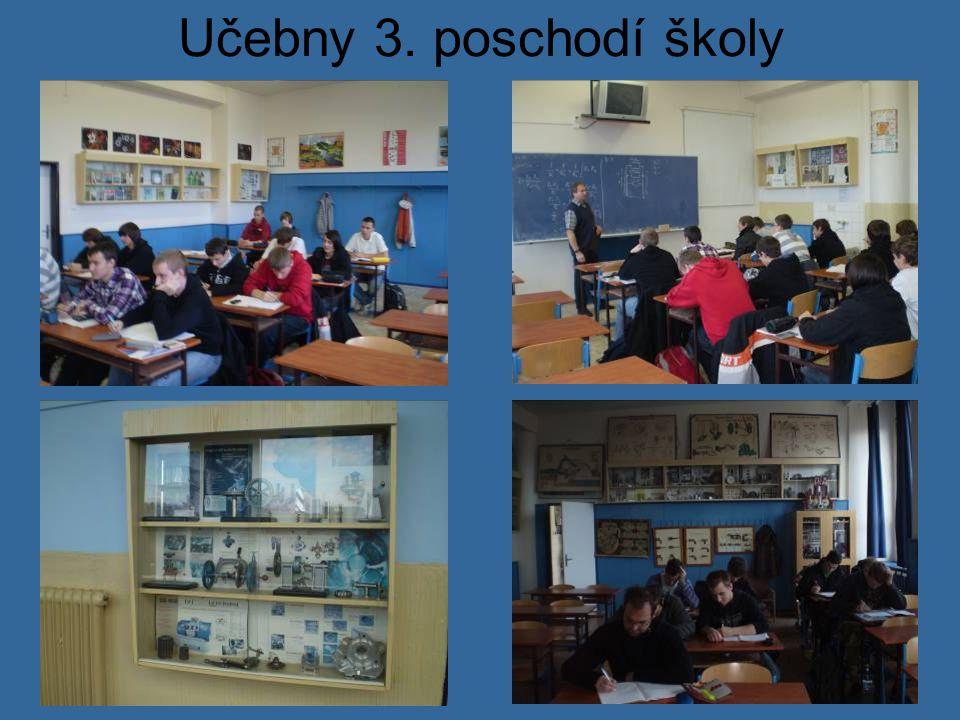 Učebny 3. poschodí školy