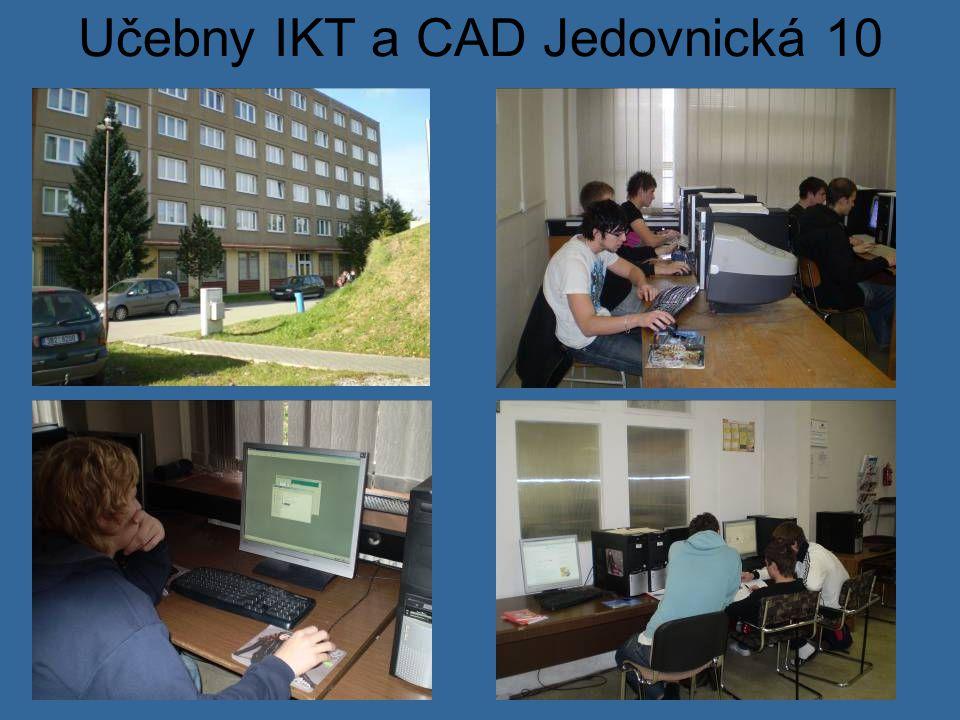 Učebny IKT a CAD Jedovnická 10