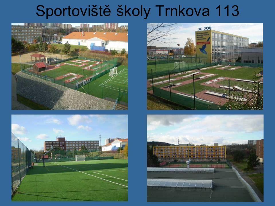 Sportoviště školy Trnkova 113