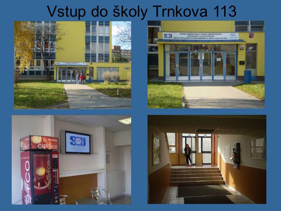 Přízemí školy Trnkova 113