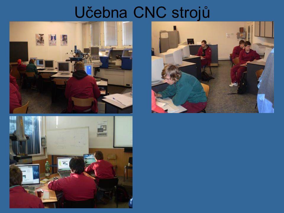 Učebna CNC strojů