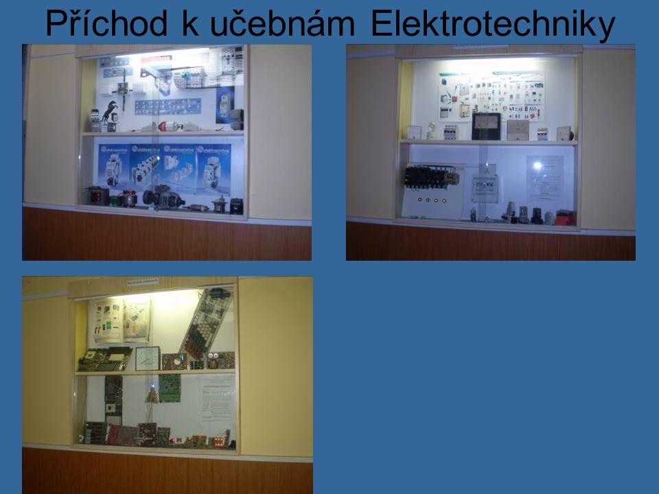 Příchod k učebnám Elektrotechniky