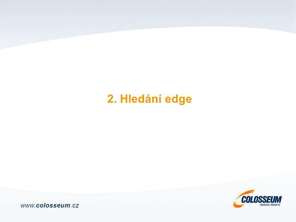 2. Hledání edge www.colosseum.cz