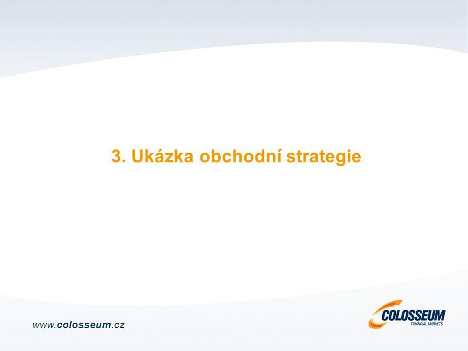 3. Ukázka obchodní strategie www.colosseum.cz
