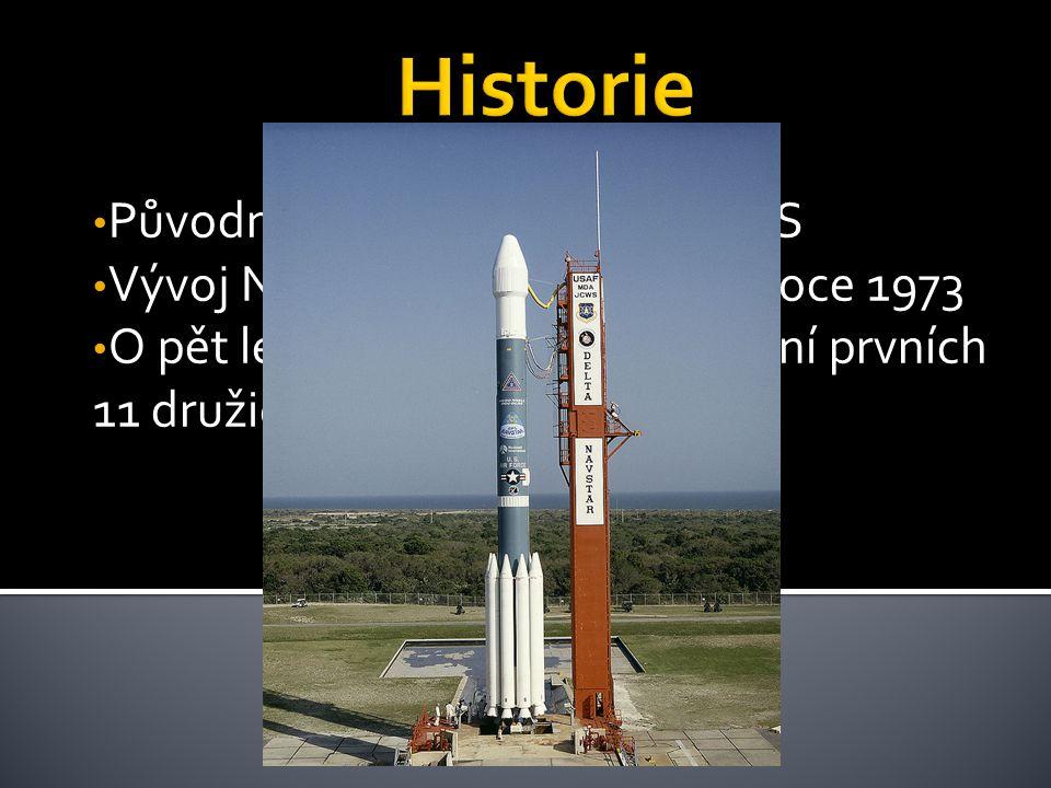 Byl projektován na 24 družic ale nyní využívá mezní počet 32 družic Satelity putují po oběžné dráze tak aby před nimi nebylo žádné místo na Zemi skryté.