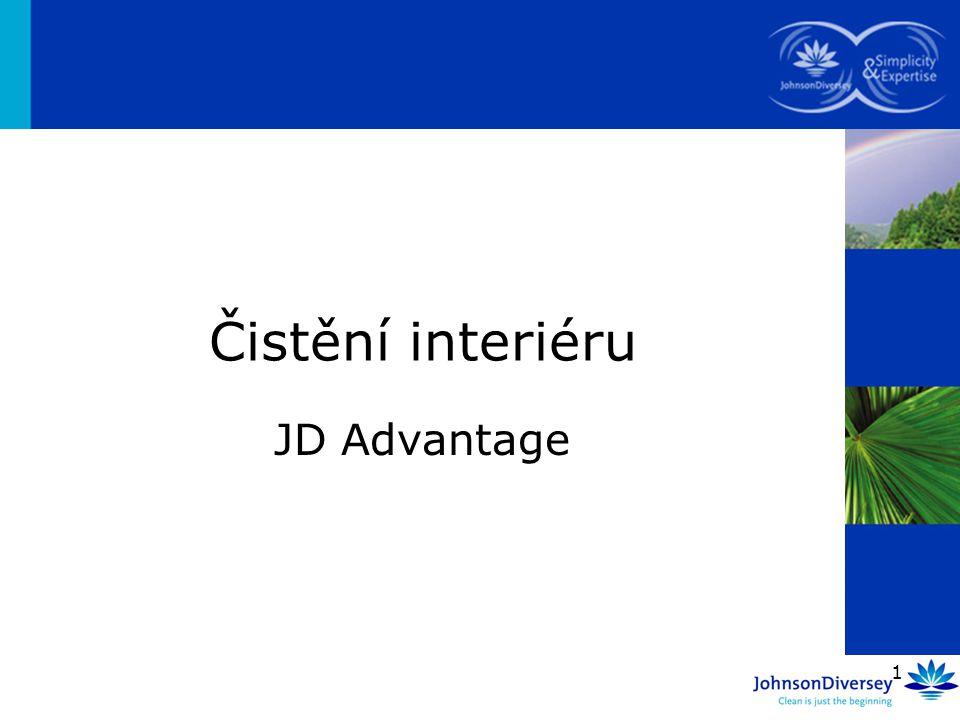 1 JD Advantage Čistění interiéru