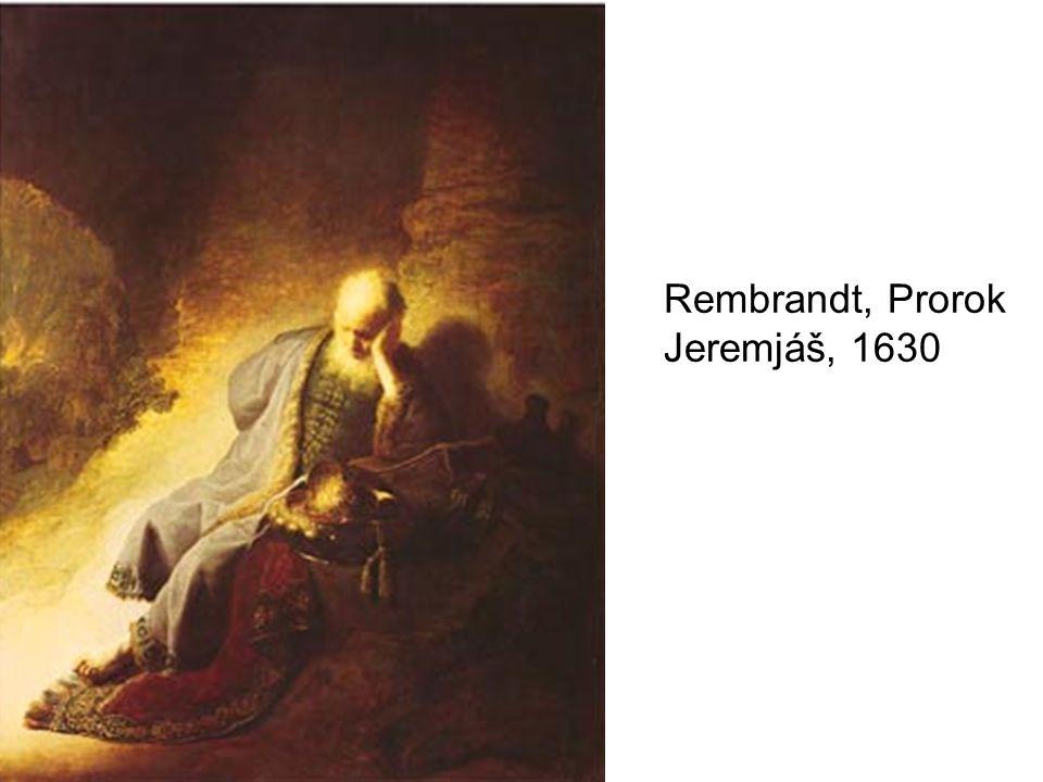 Rembrandt, Prorok Jeremjáš, 1630