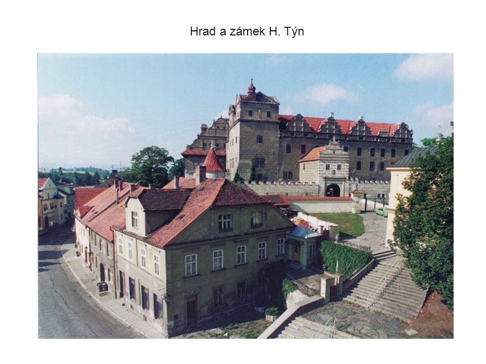 Hrad a zámek H. Týn
