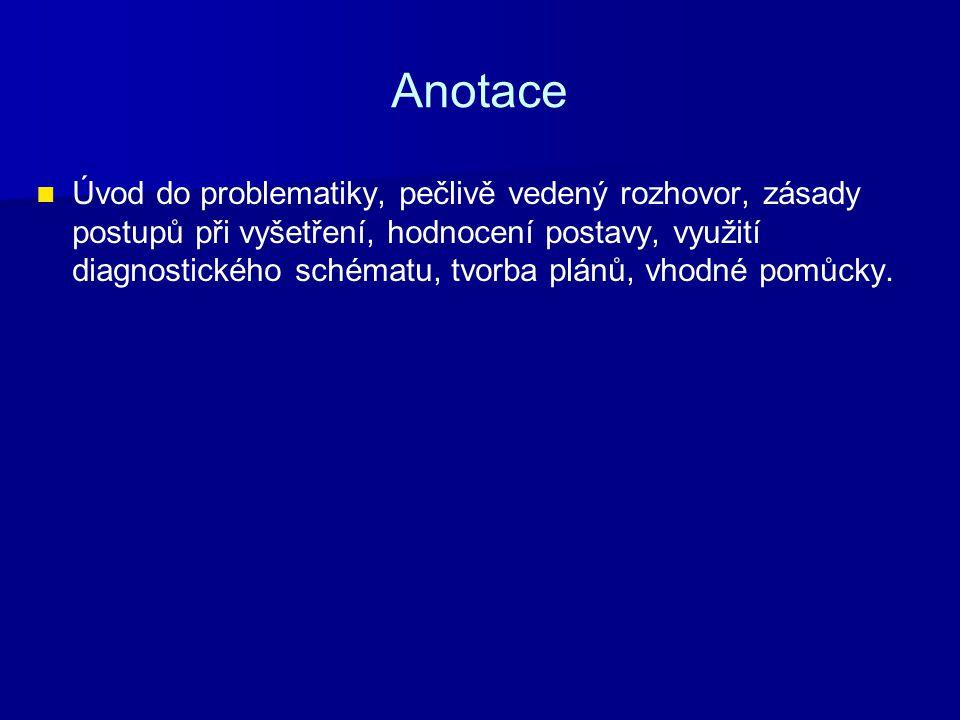 Metodické pokyny Jedná se o prakticko-teoretickou výuku, které musí předcházet znalost anatomie nervového systému člověka.
