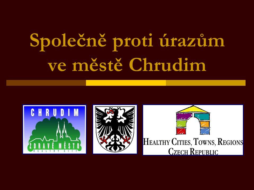 Společně proti úrazům ve městě Chrudim