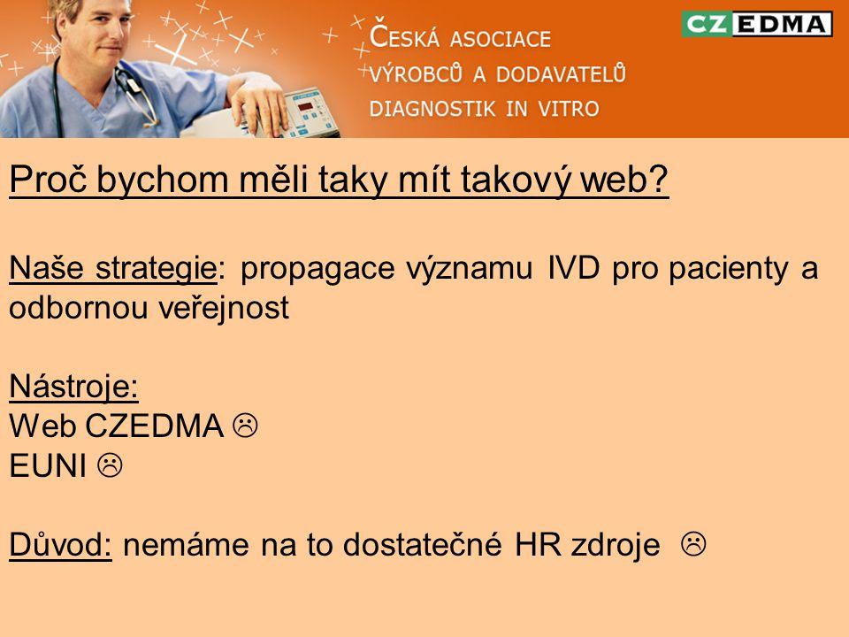 Co můžeme udělat pro to, abychom měli LabTestsOnline v ČR.