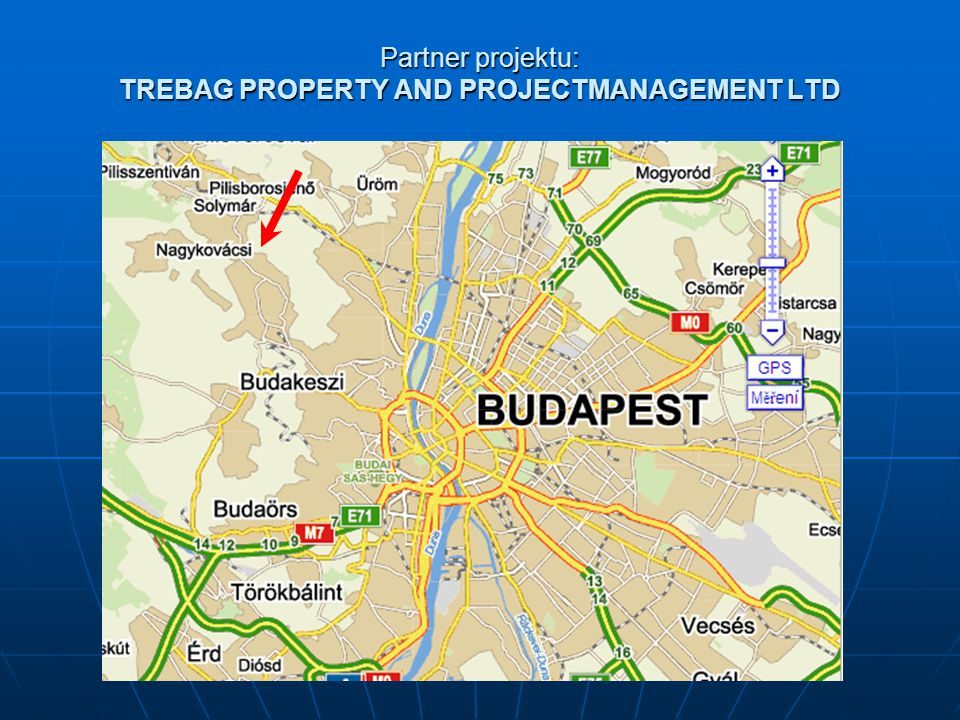 Partner projektu: TREBAG PROPERTY AND PROJECTMANAGEMENT LTD