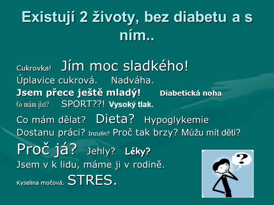 Česko pod lupou.750 000 lidí v Čr. trpí diabetem750 000 lidí v Čr.