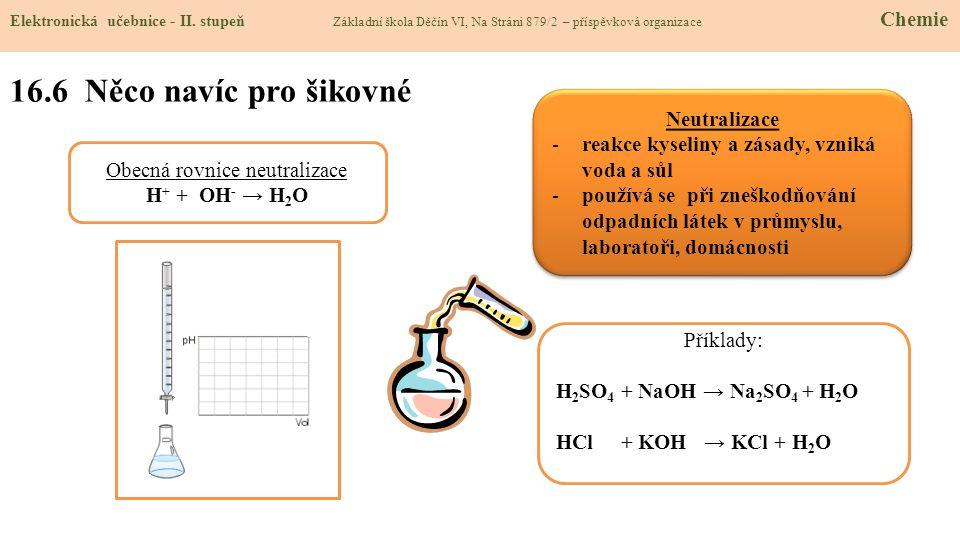 16.6 Něco navíc pro šikovné Elektronická učebnice - II.