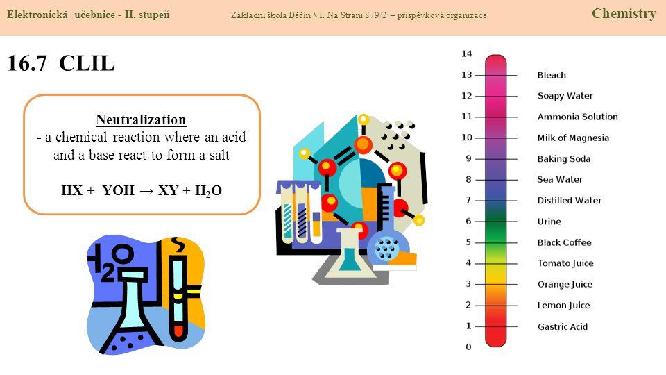 16.8 Test znalostí Správné odpovědi: 1.Jaké typy pH rozlišujeme.