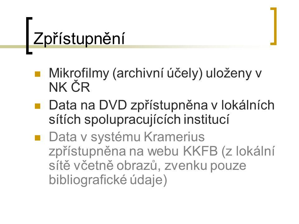 Ukázka Sirius Lib Reader (data na DVD) Kramerius (data na webu)
