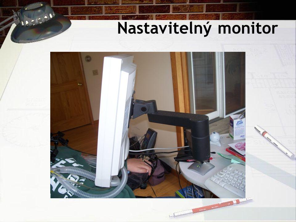 Nastavitelný monitor