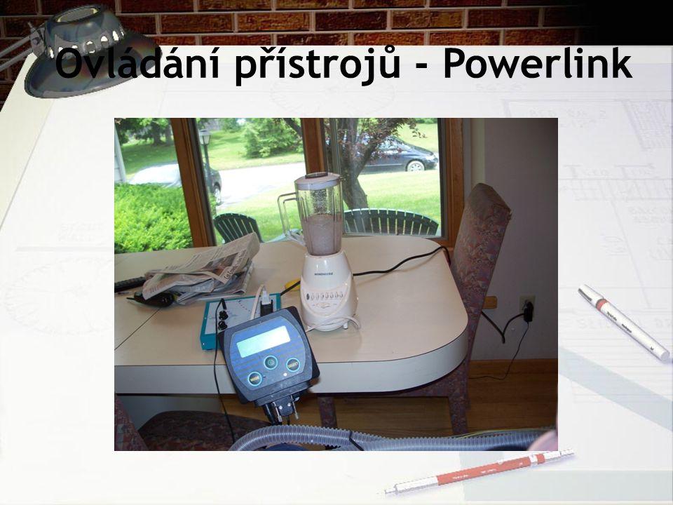 Ovládání přístrojů - Powerlink