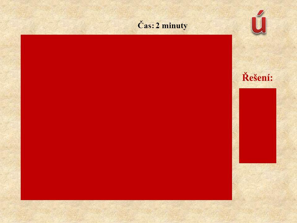 Přiřaďte polohy: Čas: 2 minuty Řešení: c) u postižených s poraněním dolních končetin d) u postižených při vědomí s poraněním mozku a očí a) začínající a rozvíjející se šok b) poloha při zlomenině pánve a šoku 1 2 3 4 1 – c) 2 – d) 3 – a) 4 – b)