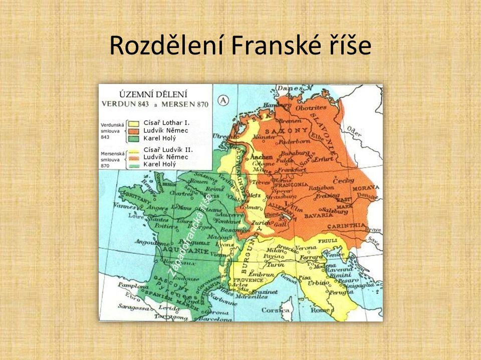 Rozdělení Franské říše